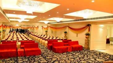 Banquet Hall at Clarks Avadh, hotel near gomti river in Lucknow, Luknow Hotel