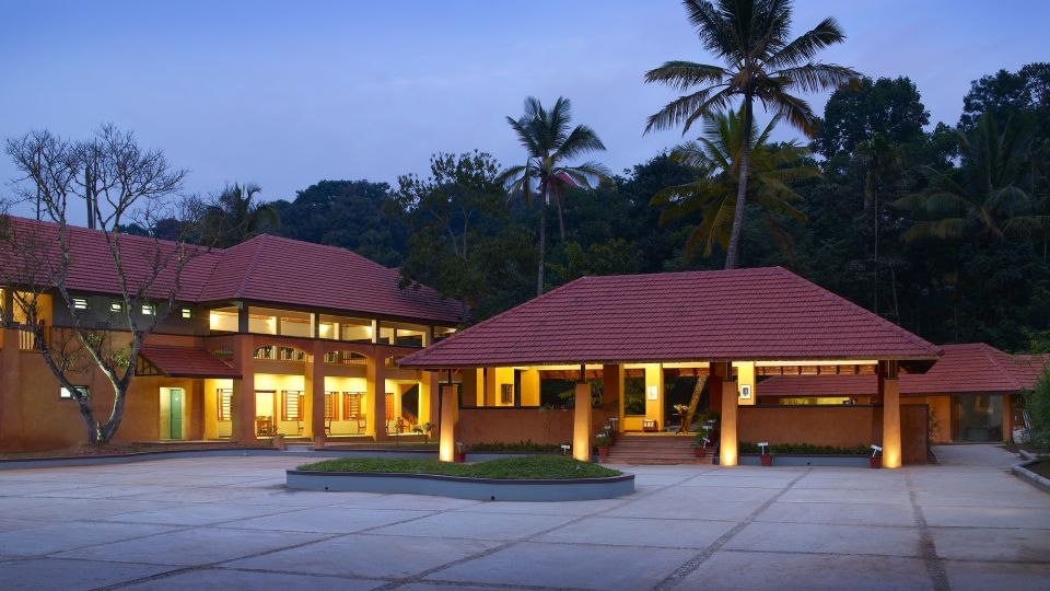 Facade of our resort in Thekkady, Abad Green Forest, Thekkady-6