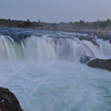 Dhuandhar falls at Bhedaghat  Madhya Pradesh  India