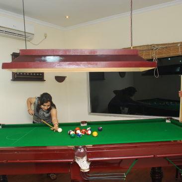 Game Room at Polo Calcutta Boathouse Kolkata  Hotel Facilities in Kolkata  Hotels in Kolkata 1