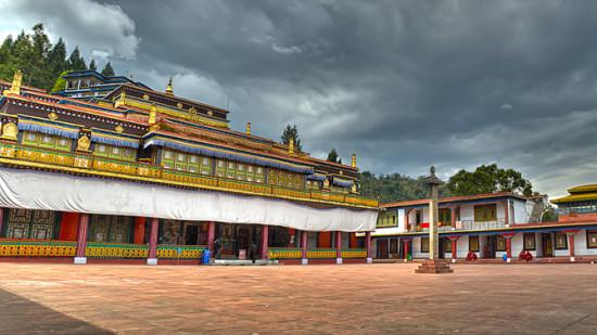 Rumtek Monastery Summit Denzong Hotel Spa Gangtok