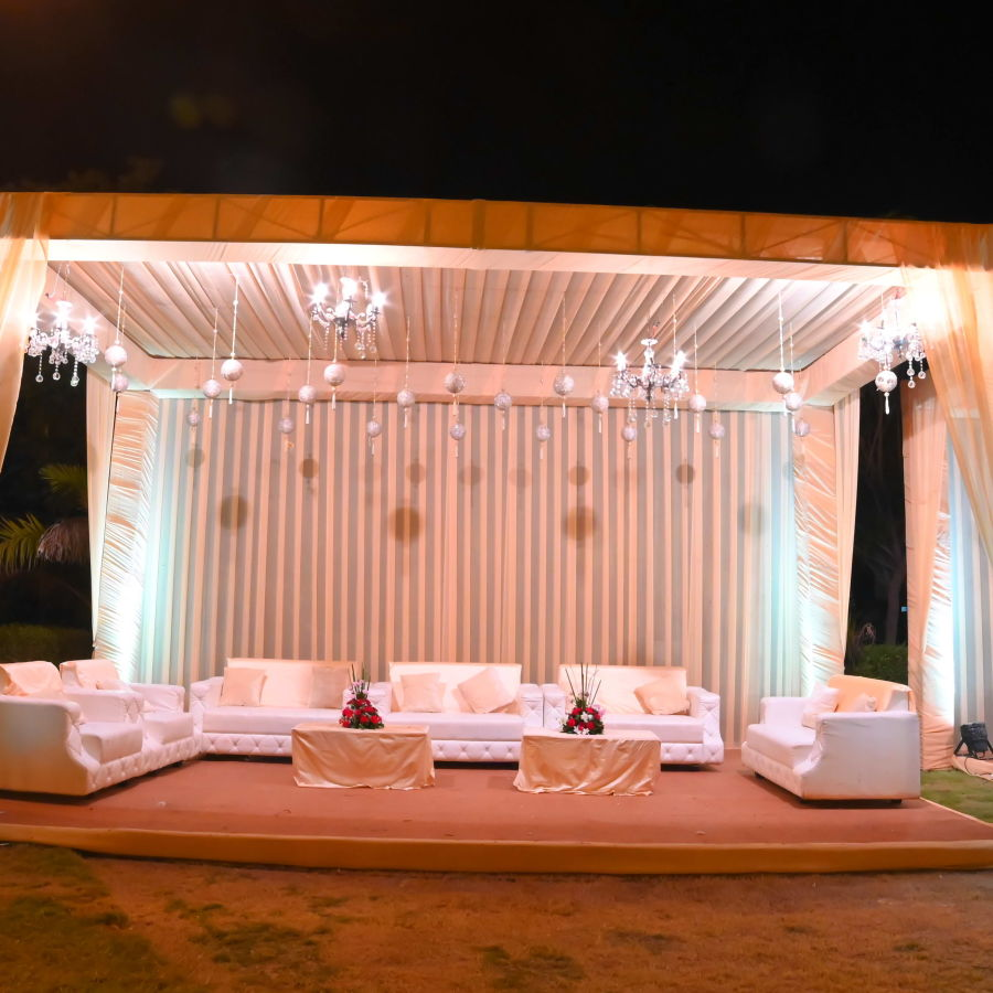 alt-text event decorations at Narayani Heights hotel, banquet hall in ahmedabad 4