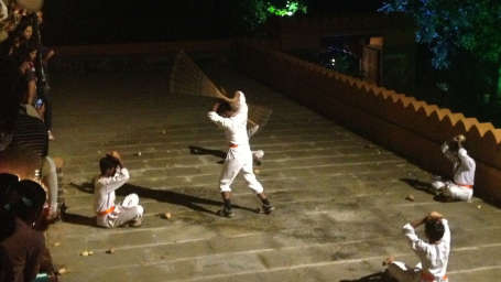 Shivaji Martial Arts at Fort Jadhavgadh Heritage Resort Hotel Pune