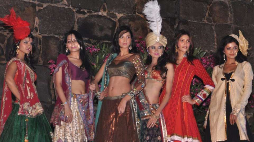 Fashion Show at Fort Jadhavgadh Heritage Resort Hotel Pune