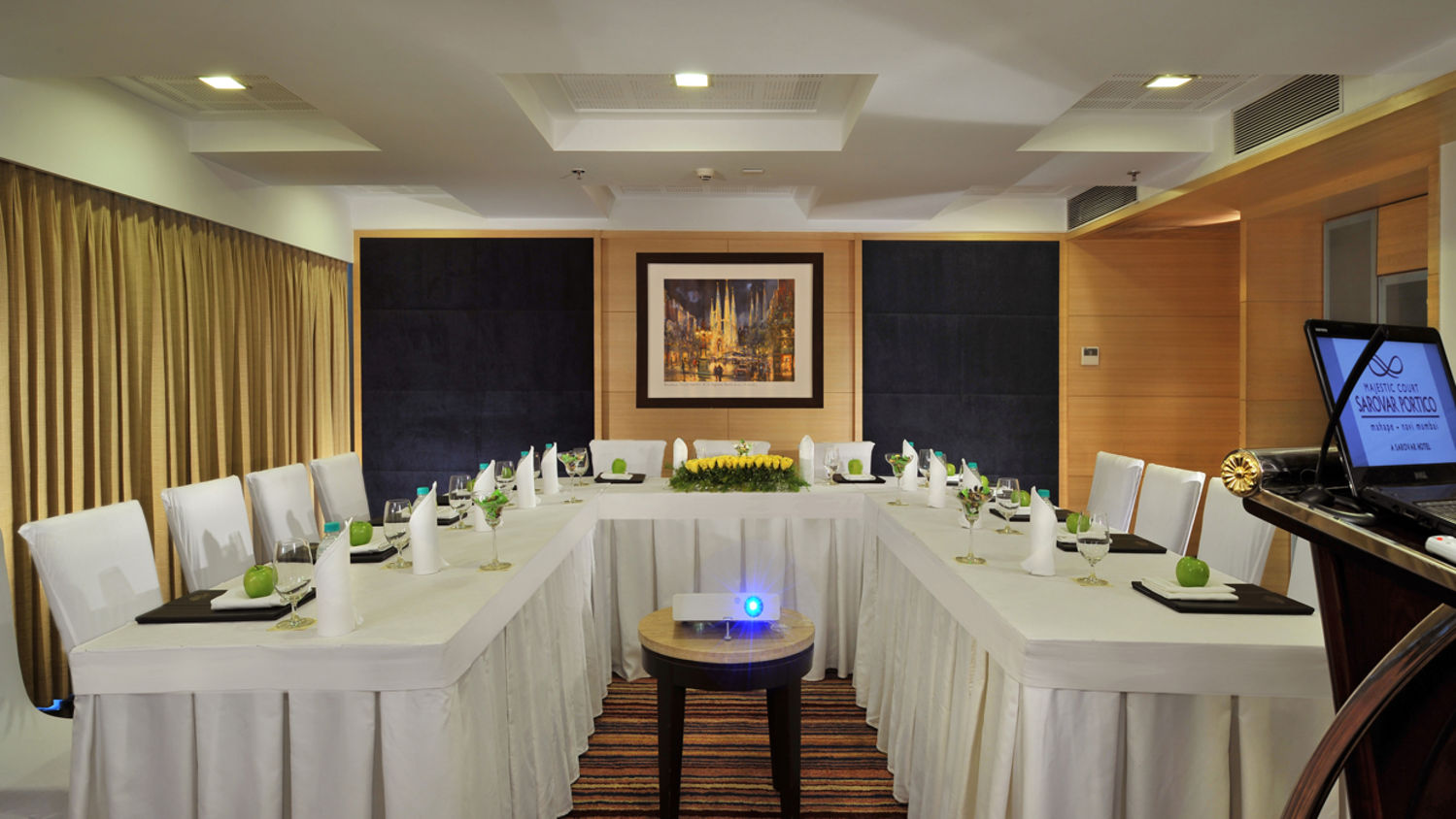 Banquet at Hotel Majestic Court Sarovar Portico Navi Mumbai 3
