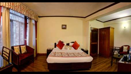 deluxe room at Summit Le Royale Hotel Shimla 3