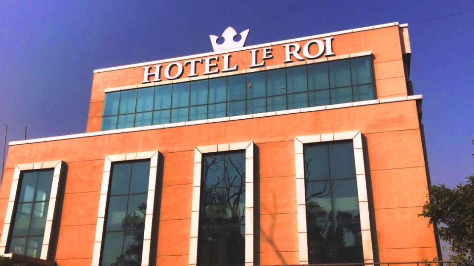 Facade Hotel Le Roi Digah West Bengal 2
