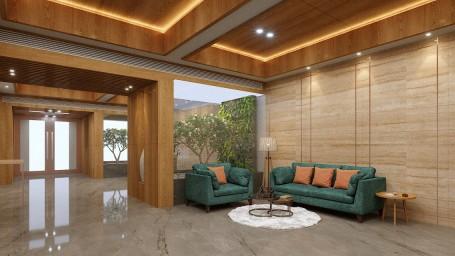 Lobby Waiting Lounge at Sarovar Portico, Morbi, Best hotels in morbi