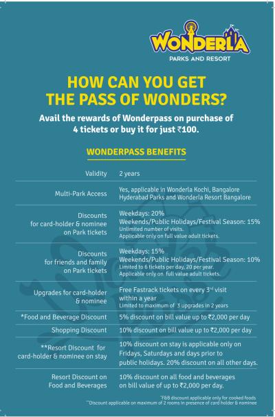 Wonderla Wonderpass Leaflet A5-2 olpz5g