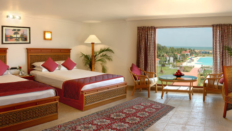 Deluxe Room with Sea View at Chariot Beach Resorts Mahabalipuram Chennai