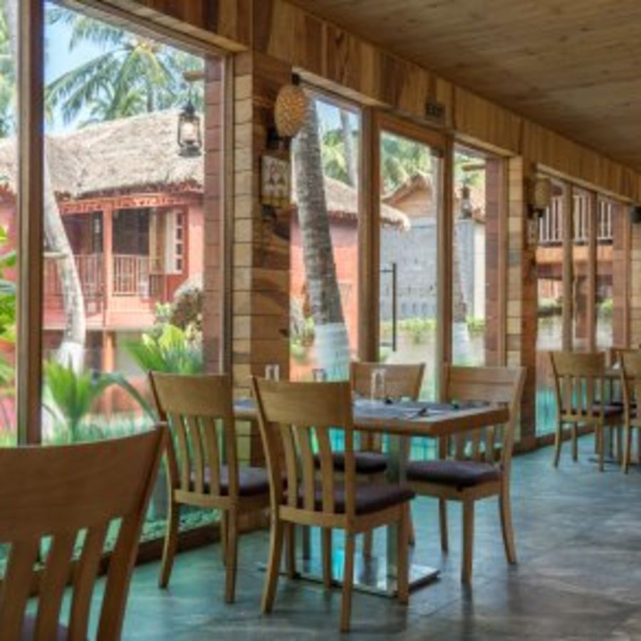 alt-text black lemon restaurant, coral reef resort havelock , resort in swaraj dweep