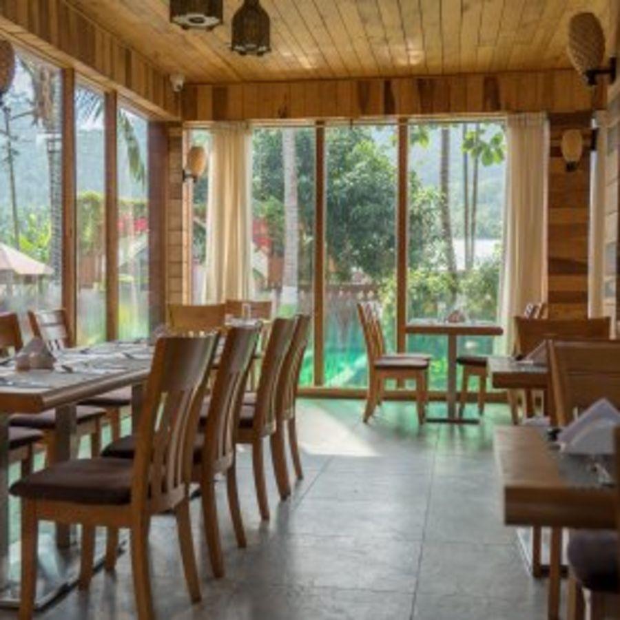 alt-text black lemon restaurant, resort in swaraj dweep, coral reef resort havelock
