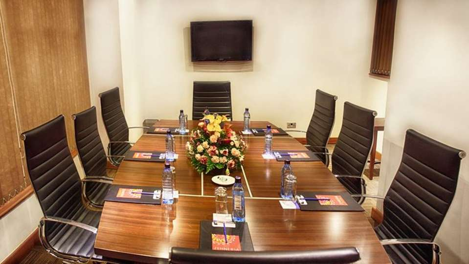 Business Center at Restaurant at The Zehneria Portico Nairobi restaurants in Nairobi Best hotels in Nairobi 3