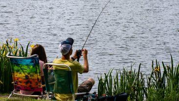 Fishing at Shaheen Bagh