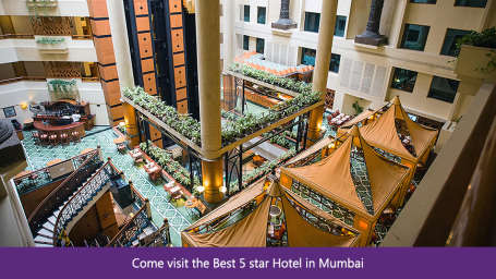 The Orchid - Five Star Ecotel Hotel Mumbai Come visit the Best 5 star Hotel in Mumbai