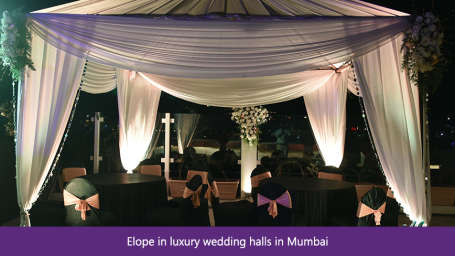 The Orchid - Five Star Ecotel Hotel Mumbai Elope in luxury wedding halls in Mumbai