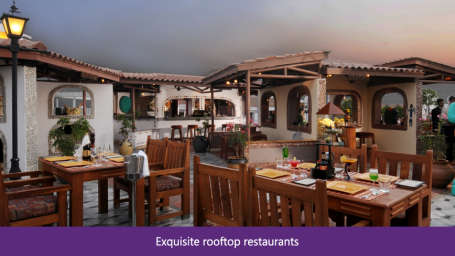The Orchid - Five Star Ecotel Hotel Mumbai Exquisite rooftop restaurants