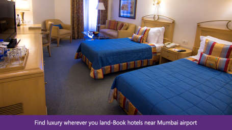 The Orchid - Five Star Ecotel Hotel Mumbai Find luxury wherever you land- Book hotels near Mumbai airport