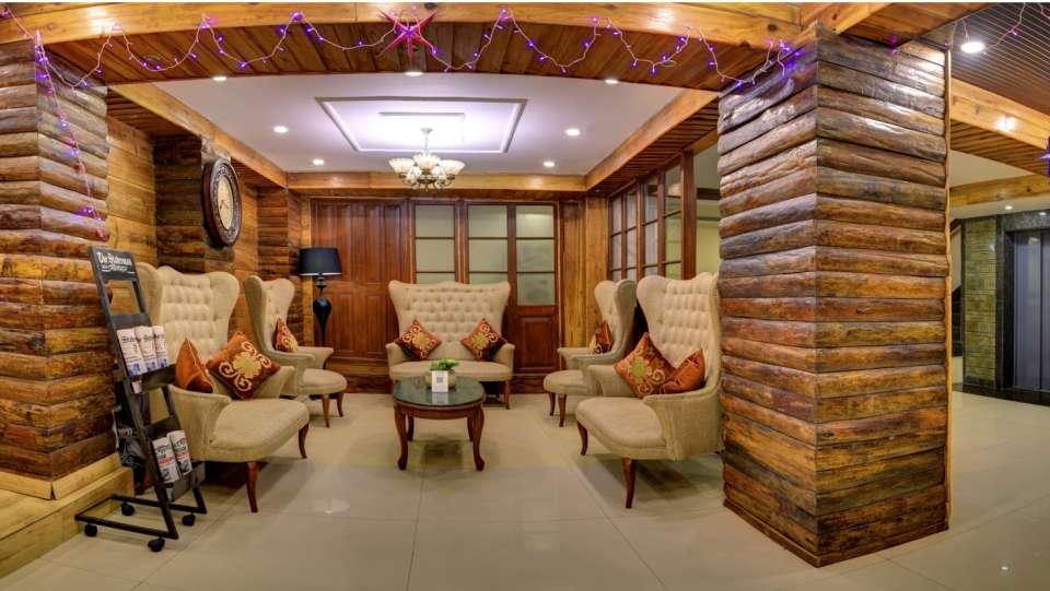 Lobby and Reception at Summit Hermon Hotel Spa Darjeeling 3