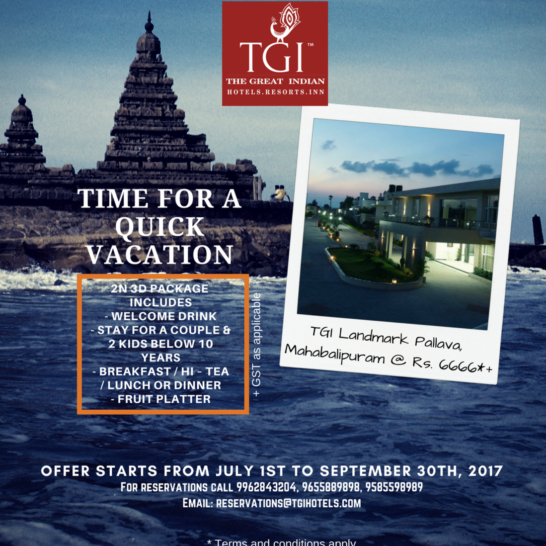 TGI Hotels and Resorts   LMP