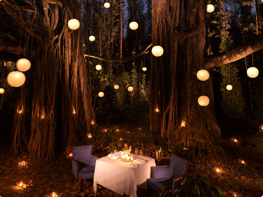 Chikmagalur Romantic Dinner