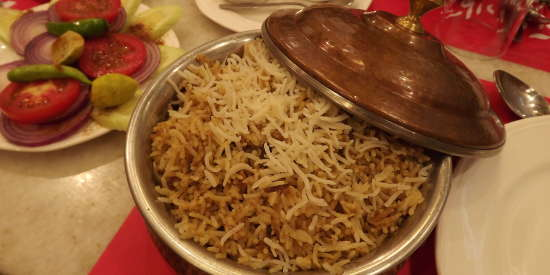 biryani golden tulip hotel in lucknow