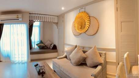 One Bedroom Suite Panphuree Residence Phuket Budget Hotels
