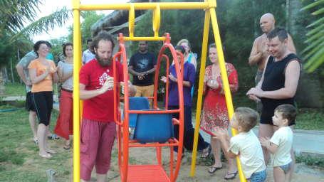 Childrens Park, Lotus Eco Beach Resort, Hotel in Konark With Spa
