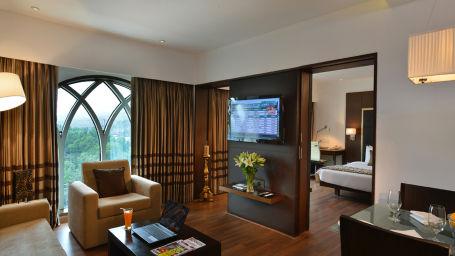 Suite at hotel Majestic Court Sarovar Portico Navi Mumbai