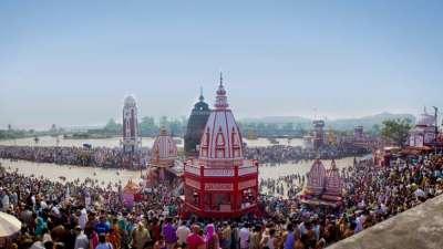The Glasshouse on The Ganges - 21st C, Rishikesh Rishikesh Visiting Tempels