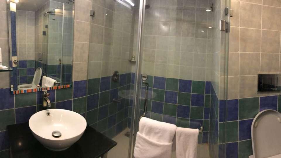 BATHROOM Aditya Hometel Ameerpet Hyderabad