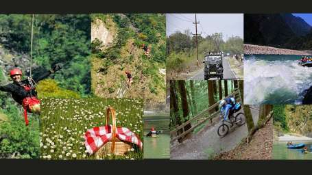 Aloha On the Ganges Rishikesh Rishikesh adventure activity collage