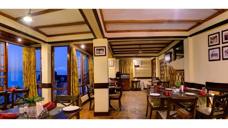 Dining at Summit Grace Hotel Spa Darjeeling 1