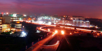 View of outer ring road, Sarovar Portico Outer Ring Road Bengaluru Bangalore, best hotels in bangalore
