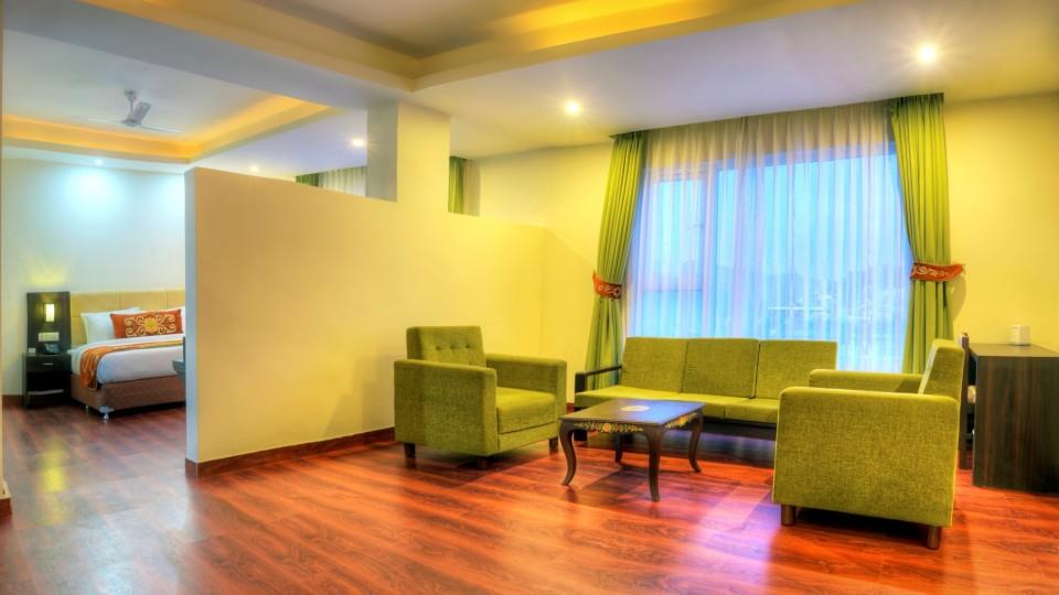 Suite Summit Denzong Hotel & Spa Gangtok best hotels in sikkim