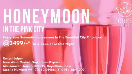 Honeymoon package in jaipur