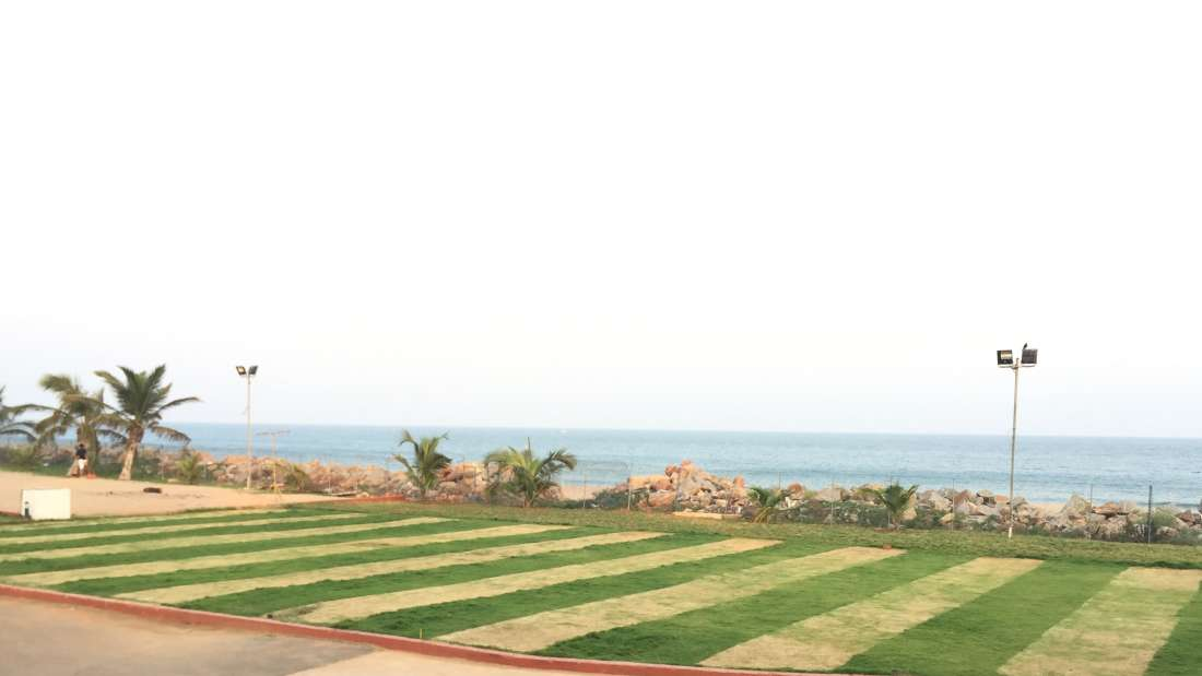 Lawn Sai Priya Beach Resort Vizag 4
