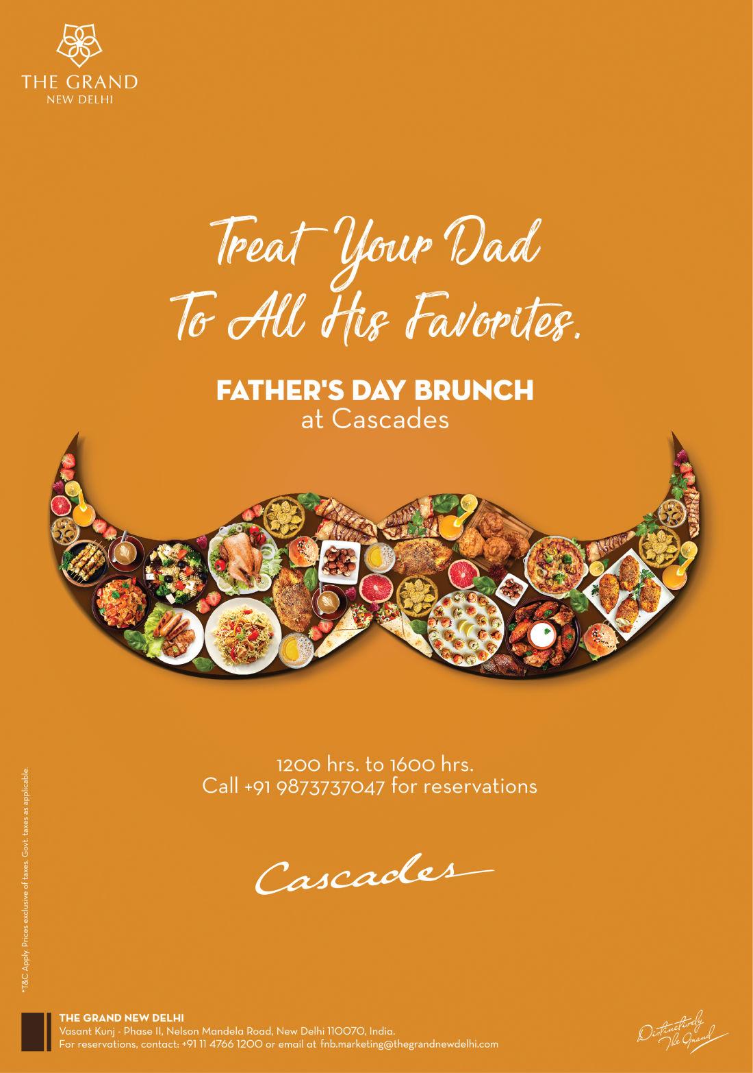 Father s Day at The Grand New Delhi