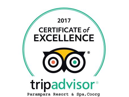 Parampara Resort & Spa, Kudige, Coorg Coorg TRIP ADVISOR PMP