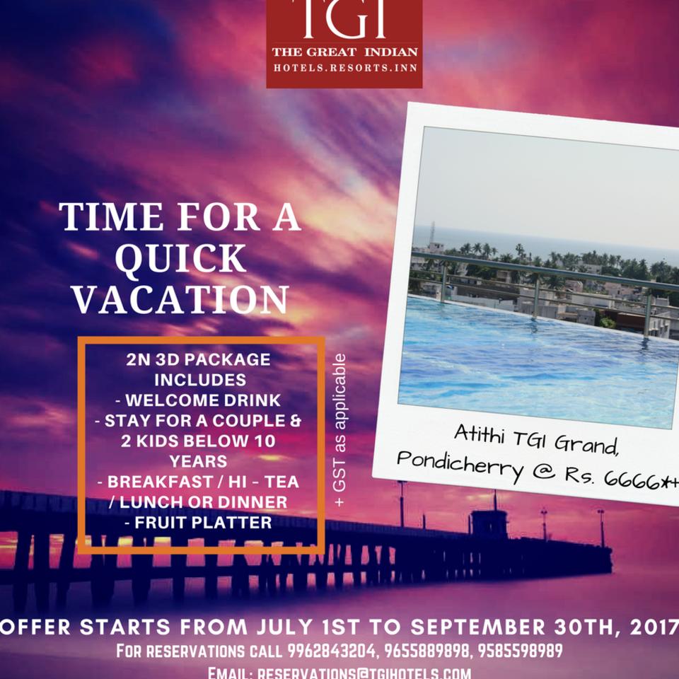 Hotel Atithi, Pondicherry Pondicherry atithi