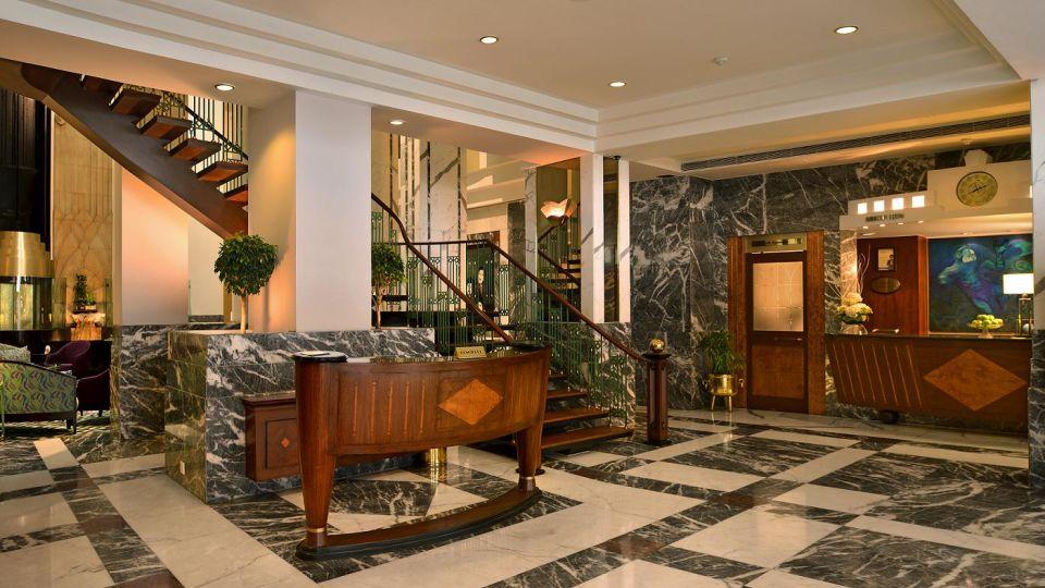 Reception , Hotel Marine Plaza Mumbai 15