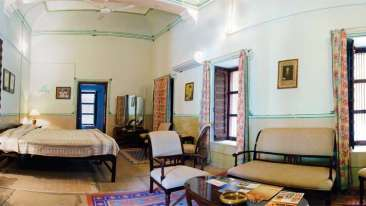 The Piramal Haveli, Shekhavati, the Grey Room in Shekhavati 1