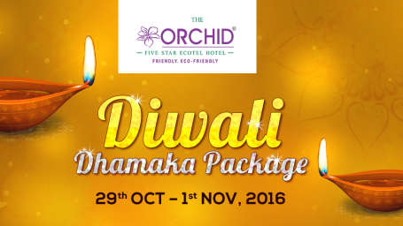 The Orchid - Five Star Ecotel Hotel Mumbai Diwali Holiday Package