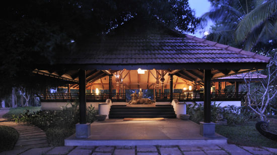 Restaurant at Niraamaya Retreats Surya Samudra, Kovalam Beach Resort 10
