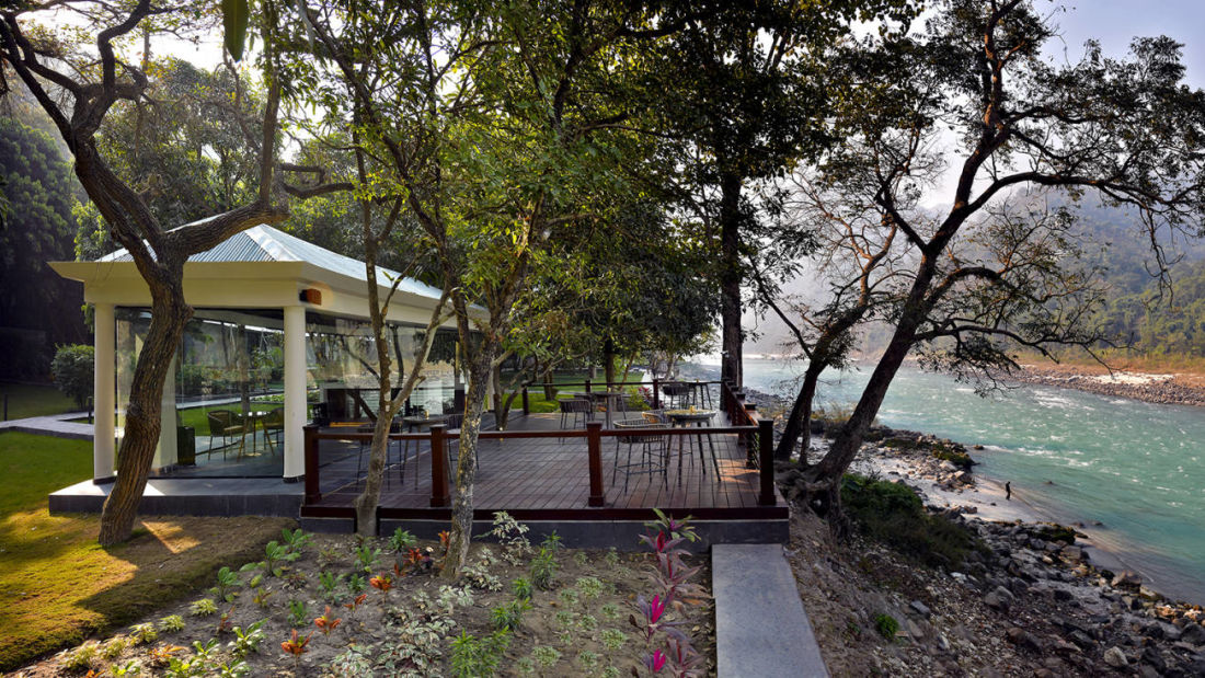 The Glasshouse on the Ganges Above Rishikesh 2 lr53jm