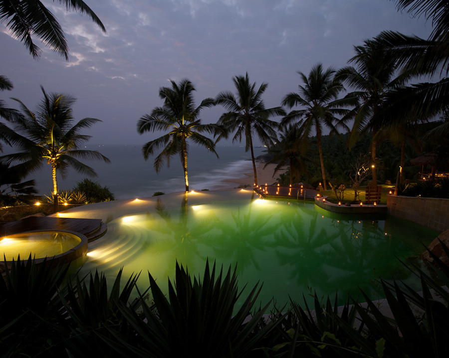 alt-text Pool at Niraamaya Surya Samudra Resorts in Kovalam 2