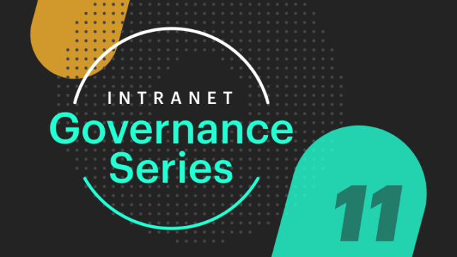 intranet governance bench succession plan
