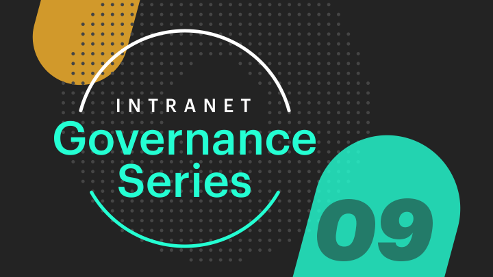 Intranet Governance avoid 3 patterns