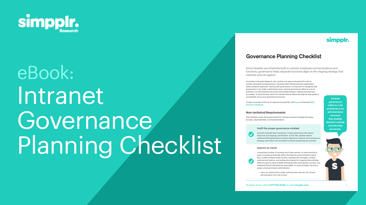 ultimate guide governance checklist