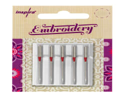 Embroidery Needles Size 90 - 5 Pack